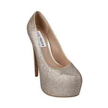 steve madden, glitter shoes