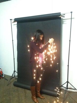 Niki, Seamless, christmas lights