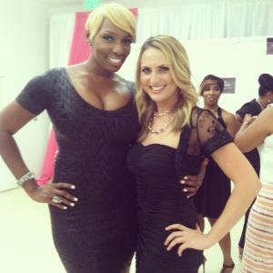 NeNe Leaks & Amanda Ford Lace Cosmetics
