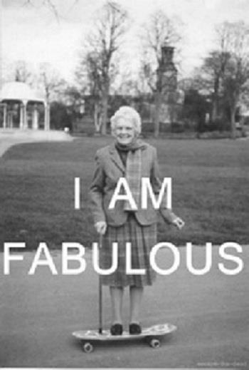fabulous grandma