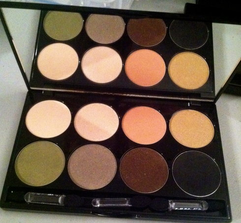 Lace Cosmetics Eye Shadow Palette