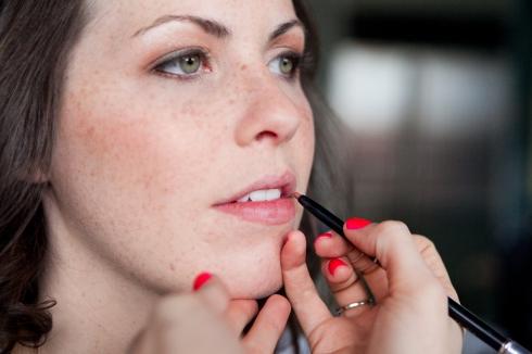 lace cosmetics wedding makeup