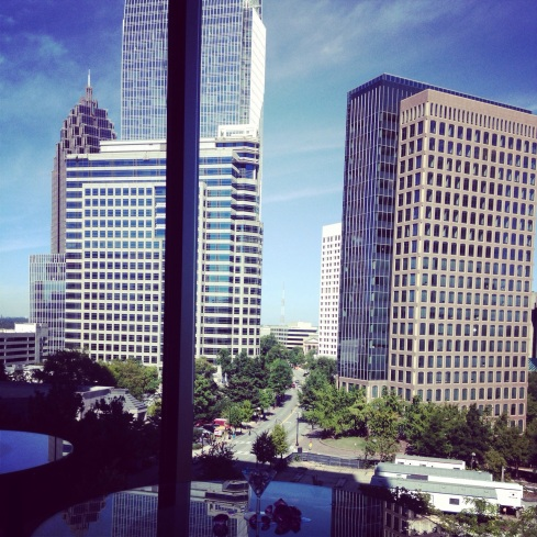 atlanta view loews atlanta hotel